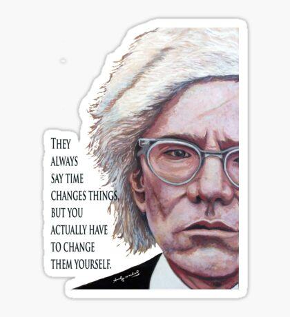 A. Warhol Sticker