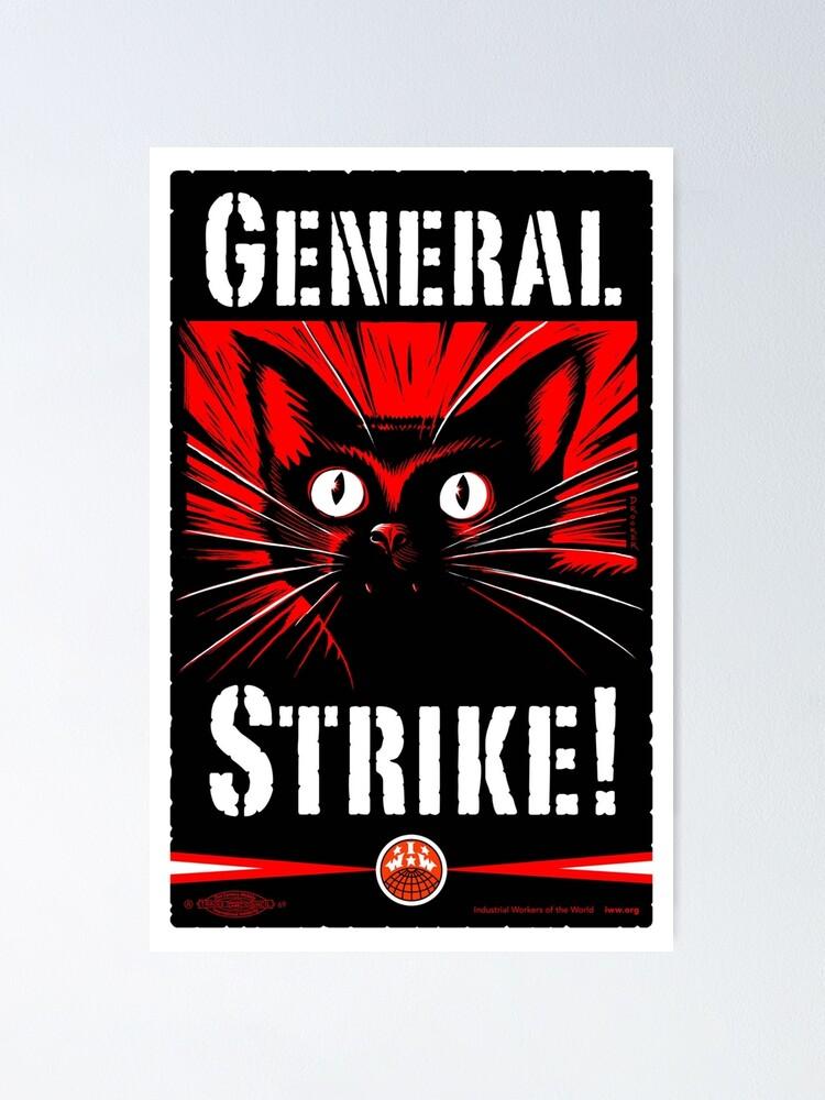 Alternate view of General Strike! Poster