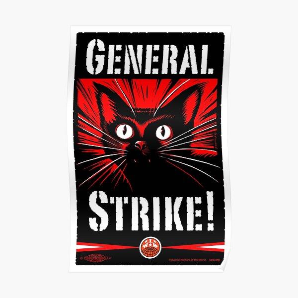 ¡Huelga general! Póster