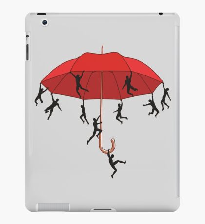 Umbrella Mayhem iPad Case/Skin