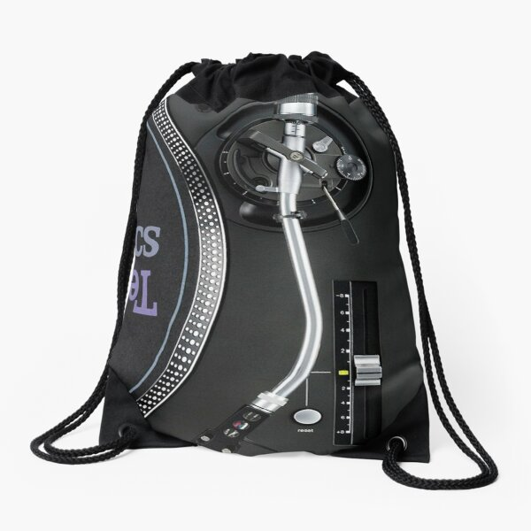 Technics Dj Old School Drawstring Bag
