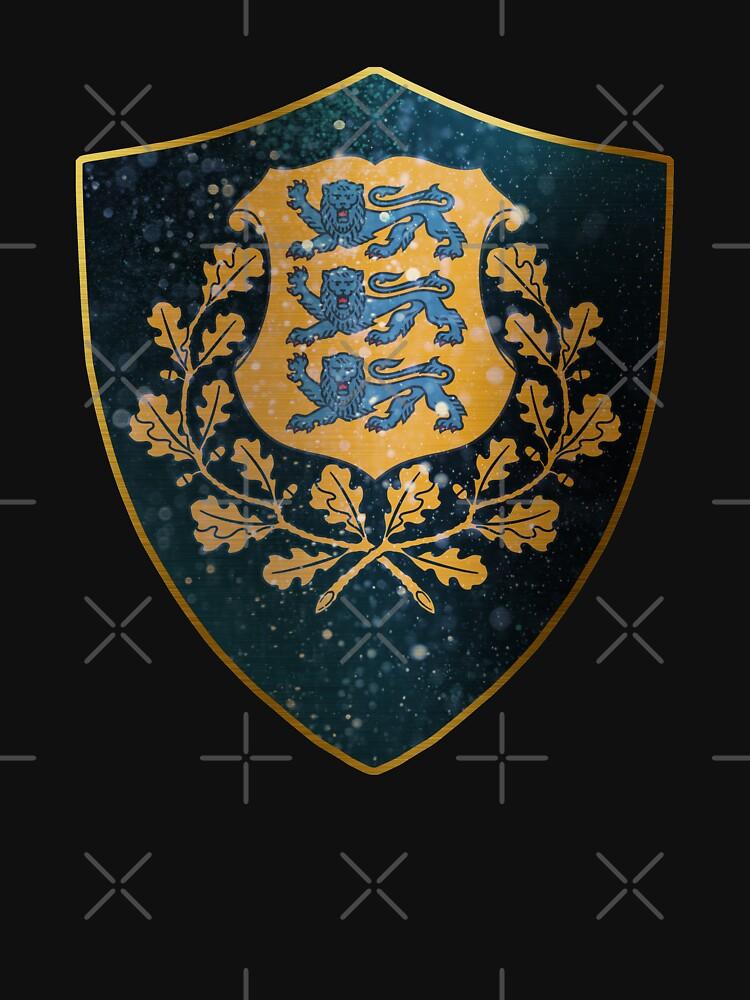 Estonia Coat of Arms by ockshirts