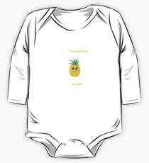 Pineapple Shirt Be A Pineapple Stand Tall Gift Tee Baby Body Langarm