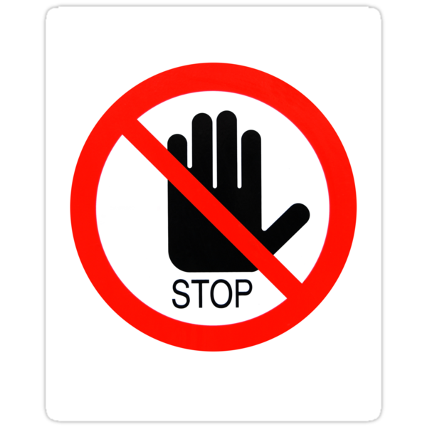 Stop Stickers