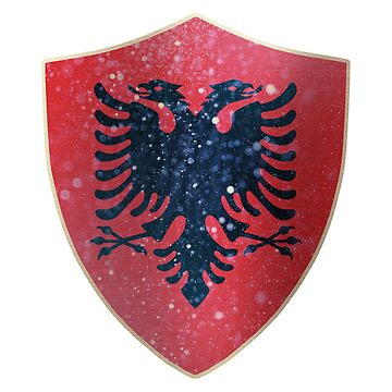 Albania Flag Shield by ockshirts