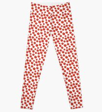 Apple seamless pattern Leggings
