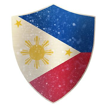 Philippines Flag Shield by ockshirts