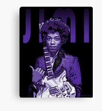 Purple Hendrix Canvas Print