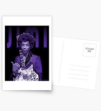 Purple Hendrix Postcards
