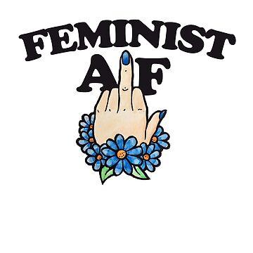 Feminist AF by Boogiemonst