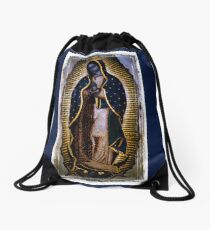 The Virgin Mary of Guadalupe  Drawstring Bag