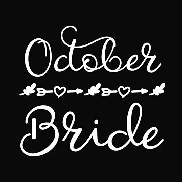 October Bride Wedding Day by 64thMixUp