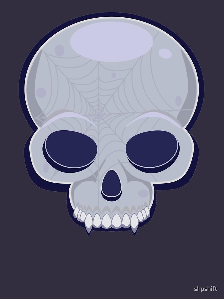 Skull in blue by shpshift