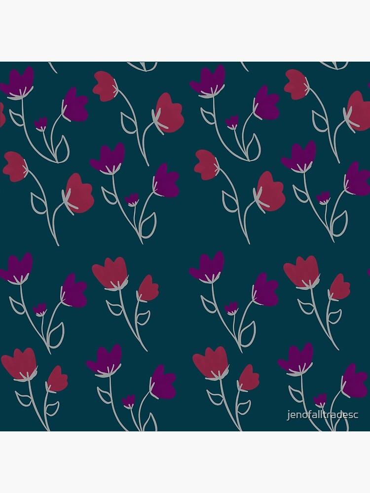 Loose floral pattern by jenofalltradesc