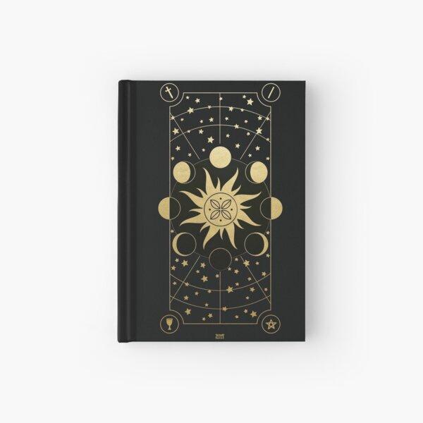 Sun, Moon & Stars Hardcover Journal