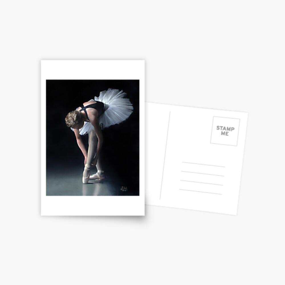 Ballerina Postkarte