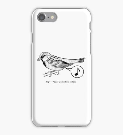 Passer Domesticus Inflatio iPhone Case/Skin
