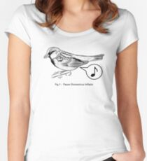 Passer Domesticus Inflatio Women's Fitted Scoop T-Shirt