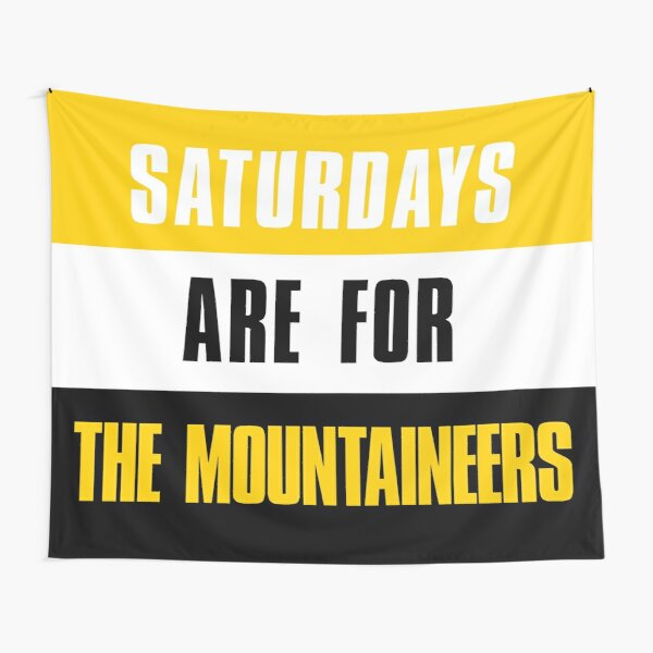 Saturdays are for The Mountaineers, The Appalachian State Mountaineers Tapestry
