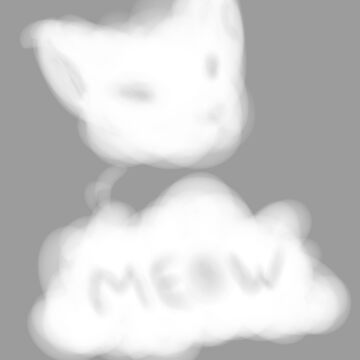 Cat cloud by Immortalsushi
