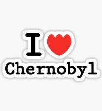 I love Chernobyl Sticker