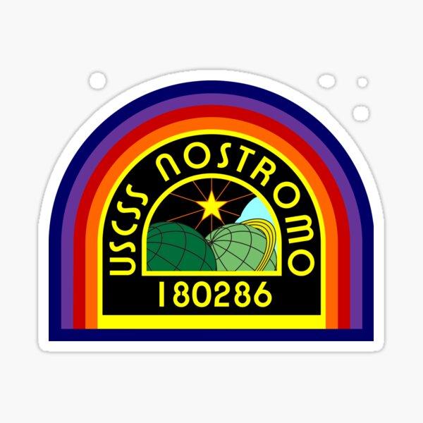 USS NOSTRAMO -ALIENS Sticker