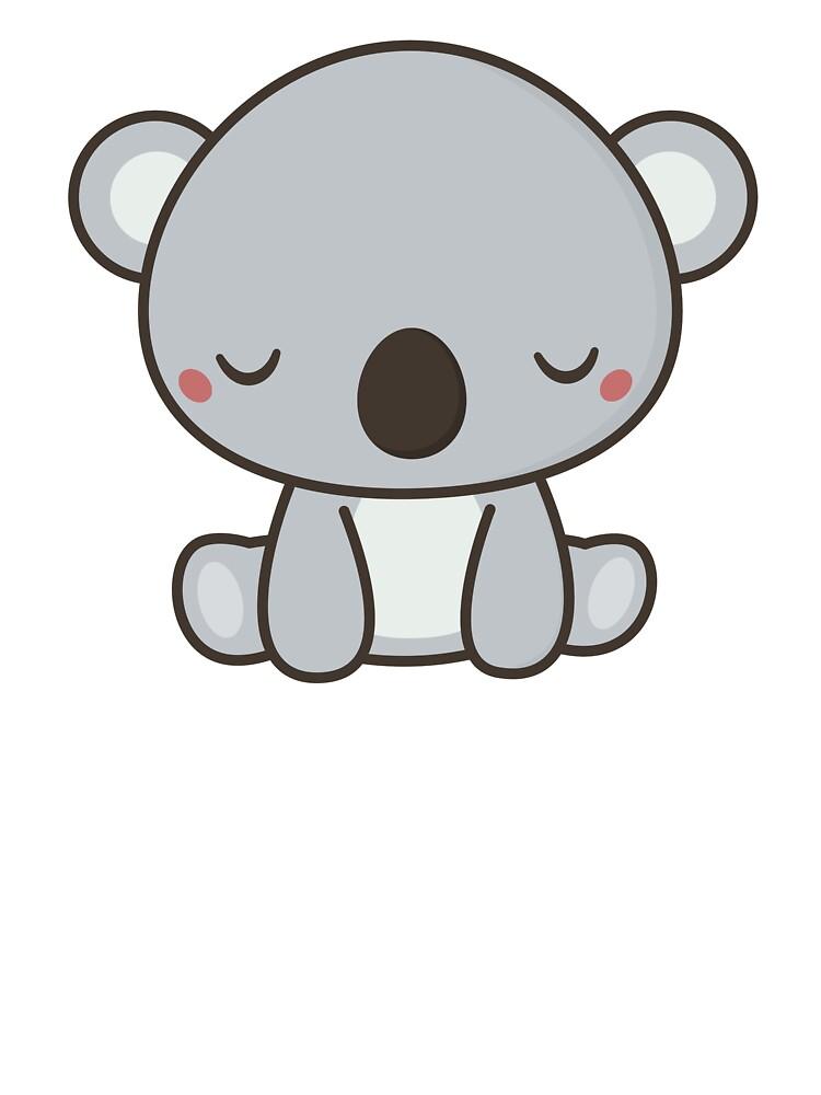 Kawaii Cute Koala Bear Design Baby One Piece