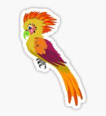 Pegatina Paradise Parrot