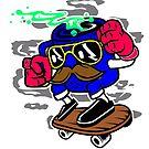 Coffee Skateboarding! by kennedywesley