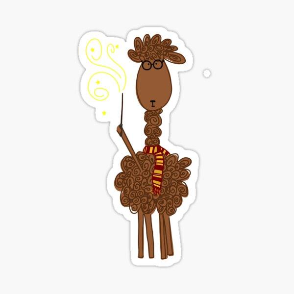 Llama Llama Magic Sticker