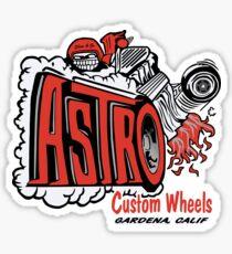 Astro Wheels Sticker
