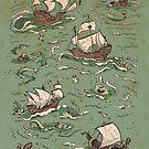 Ships a-sailing by tanaudel