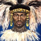 Zulu warrior by Arturas Slapsys