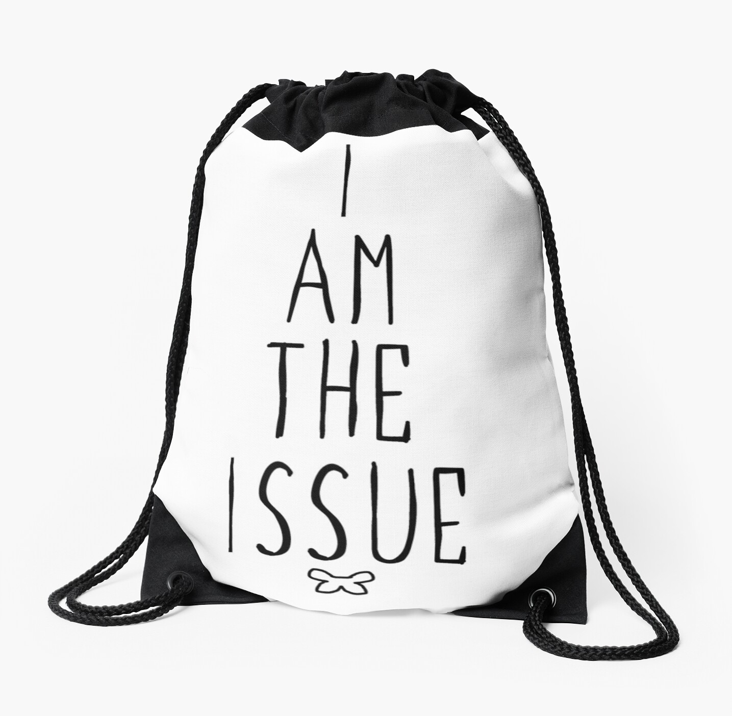 I AM THE ISSUE - White