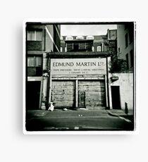 Edmund Martin - Tripe Dressers Canvas Print