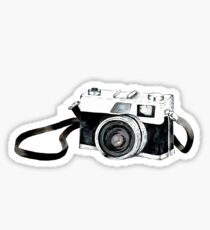 Vintage Kamera Sticker