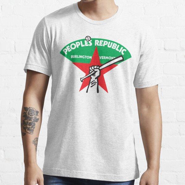 People's Republic of Burlington Softball Team Essential T-Shirt