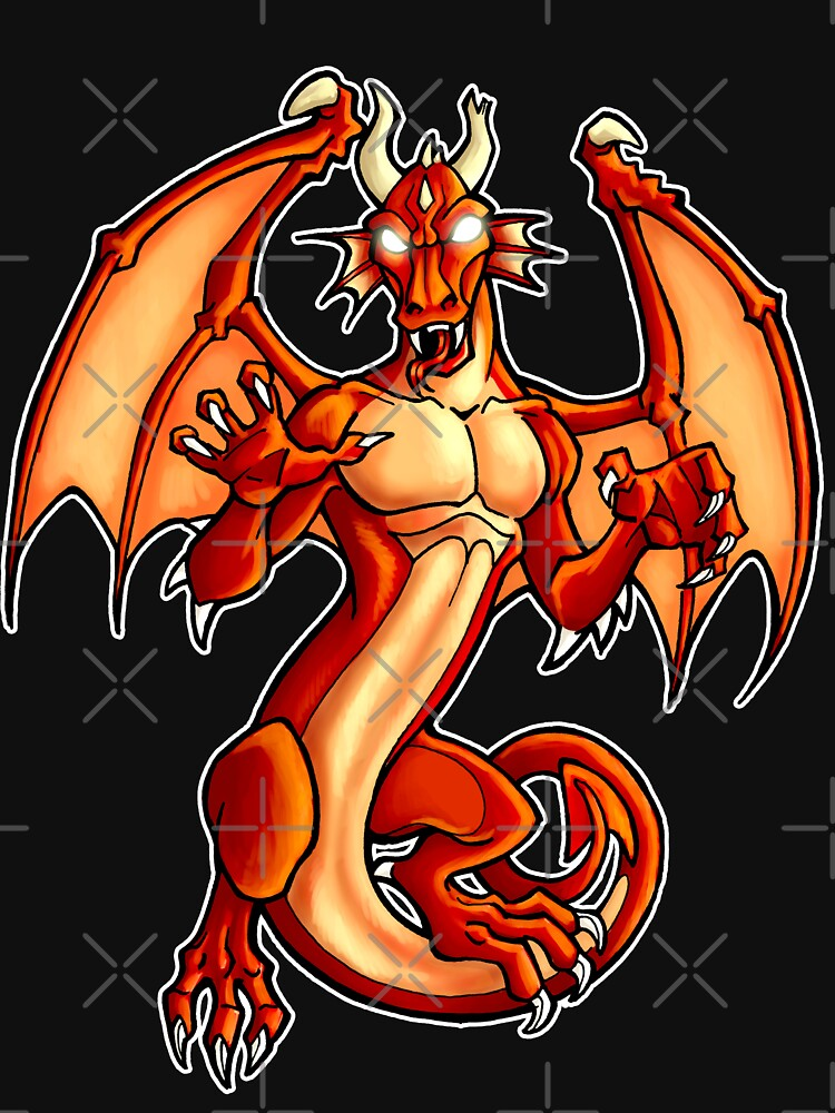 Red Dragon  by cybercat
