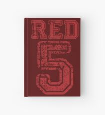 Red 5 Hardcover Journal