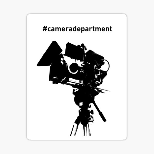 Camera Department Sticker