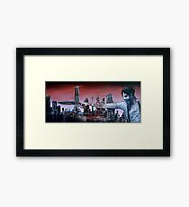 Beat It Framed Print