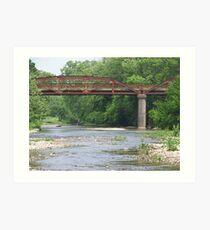 bridge of Benton County Art Print