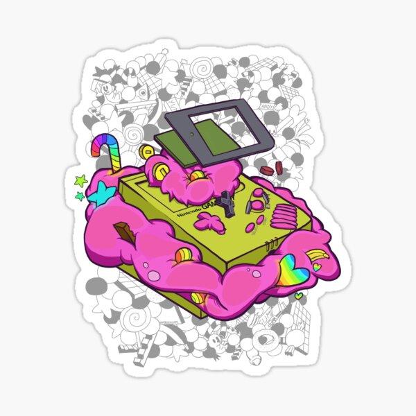 Game boy candy overload Sticker