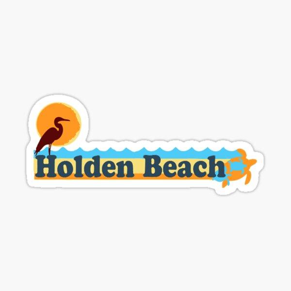 Holden Beach - North Carolina. Sticker