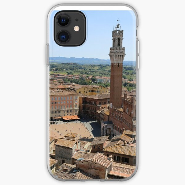 Siena, Historic City Centre. iPhone Soft Case
