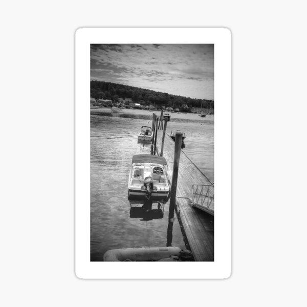 Boothbay Harbor Dock Sticker