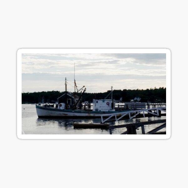 "Boothbay Harbor ""Vessel"" Sticker"