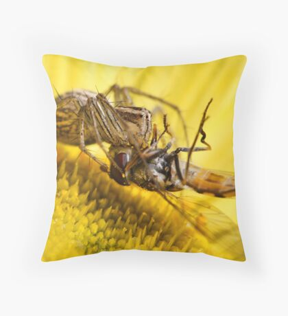Lunch Is On Me Throw Pillow
