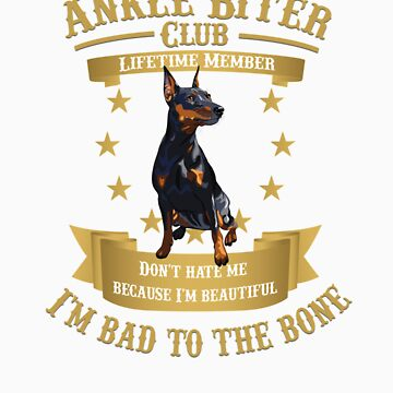 Doberman Pinschers are Bad to the Bone by rodie9cooper6