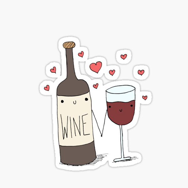 Wine Lovers Sticker